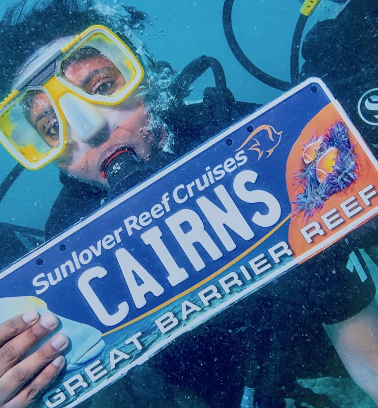 Scuba Diving in The Great Barrier Reef, Cairns, Australia – April 2018